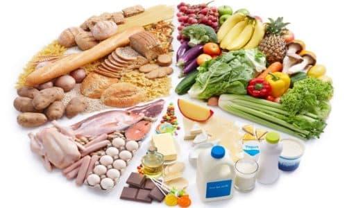Большое значение во время лечения имеет правильное питание