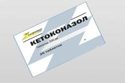 Кетоконазол для лечения отомикоза
