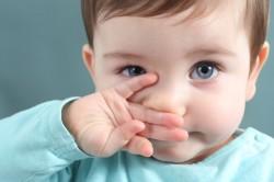 Заложенность носа у детей