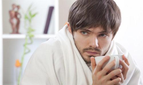 Температуру может сопровождать лихорадка