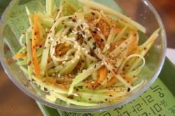 Салат из тертого топинамбура