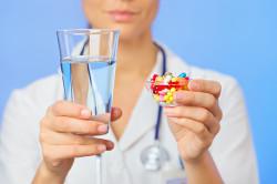 Прием препаратов при сухом кашле