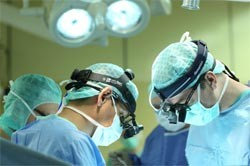 Хирургическое вмешательство при лечении гангрены