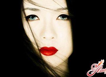 Японский макияж - отличный способ самовыражения